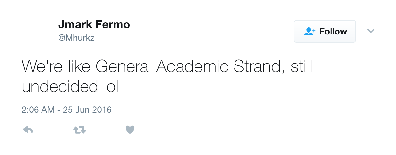 10 Tweets About The Academic Track That Summarized Everything About