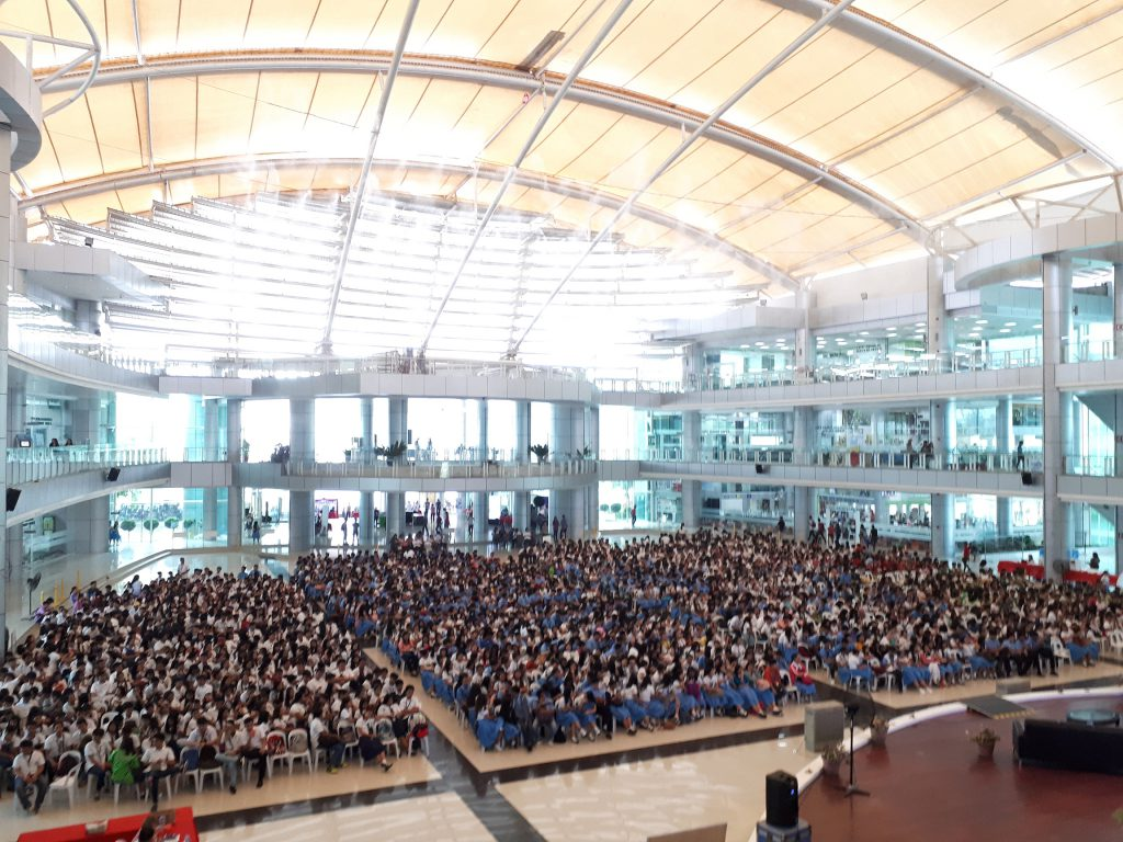 5000 students in tagum city educational fair