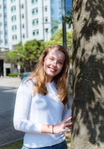 Global Leaders Programme member Emily