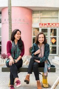 Global Leaders Programme alumni Hanna and Monisha