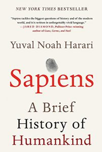 HUMSS Strand Read #4: Sapiens: A Brief History of Humankind by Yuval Noah Harari, a sarcastic retelling of how our society came to be. How will you make the world even better with your talents?