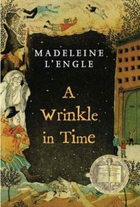 STEM Strand Reads: A Wrinkle In Time by Madeleine L'Engle. A tesseract, quantum science simplified, Oprah Winfrey! All in space.