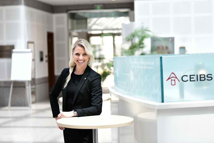 CEIBS MBA Student Emma Divine