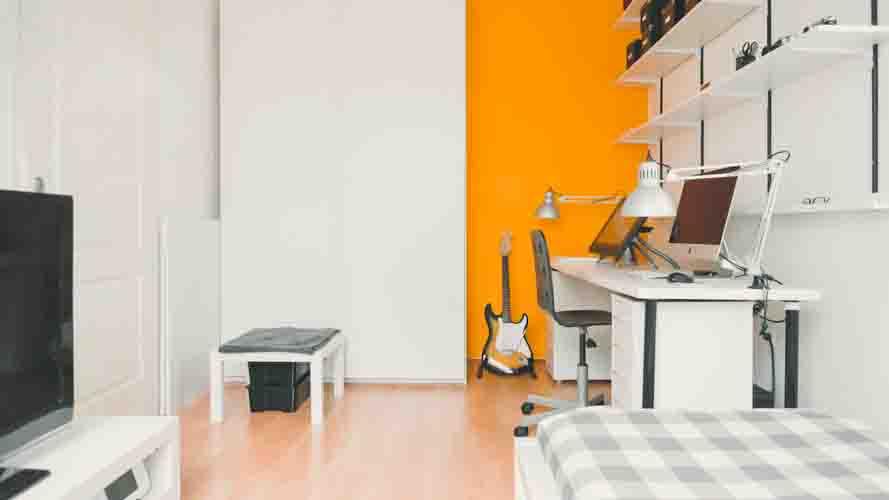 maximize a cramped dorm room