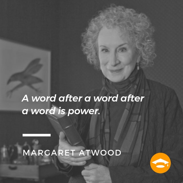 "Famous writers on writing: Margaret Atwood, author of ""The Handmaid's Tale,"" ""Alias Grace,"" and ""The Blind Assassin"""