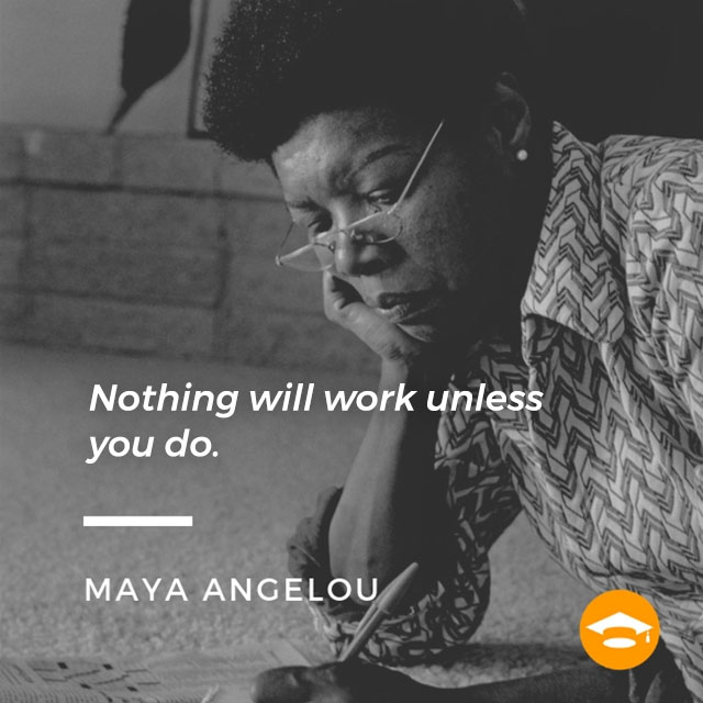 "Famous Writers on Writing: Maya Angelou, author of ""I Know Why The Caged Bird Sings,"" ""And Still I Rise,"" and ""Phenomenal Woman"""