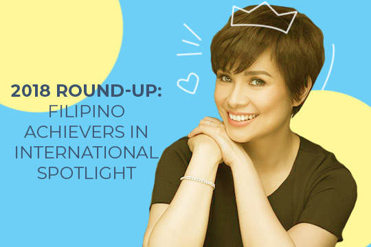 12 Filipinos Who Made the International Limelight in 2018