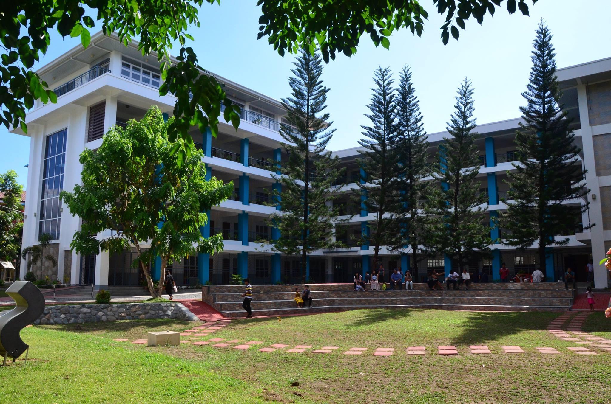 image of saint mary's university senior high school building