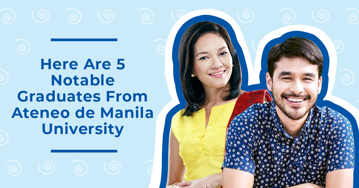 Notable Ateneo de Manila University alumni—like Atom Araullo or Risa Hontiveros!