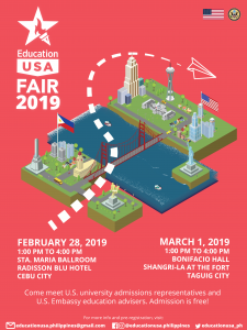 EducationUSA-Fair-2019 Poster