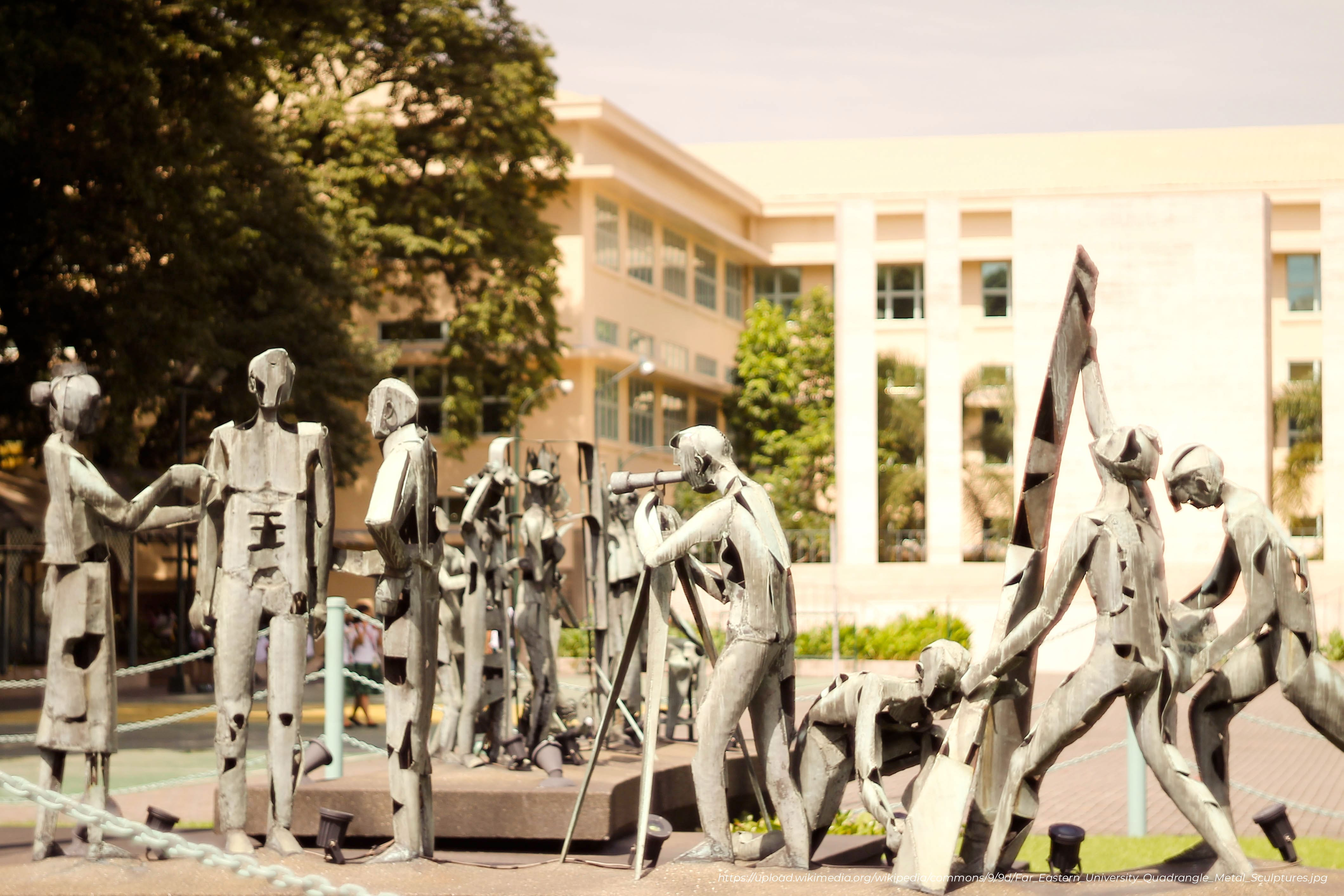far eastern university (feu) memorial quadrangle