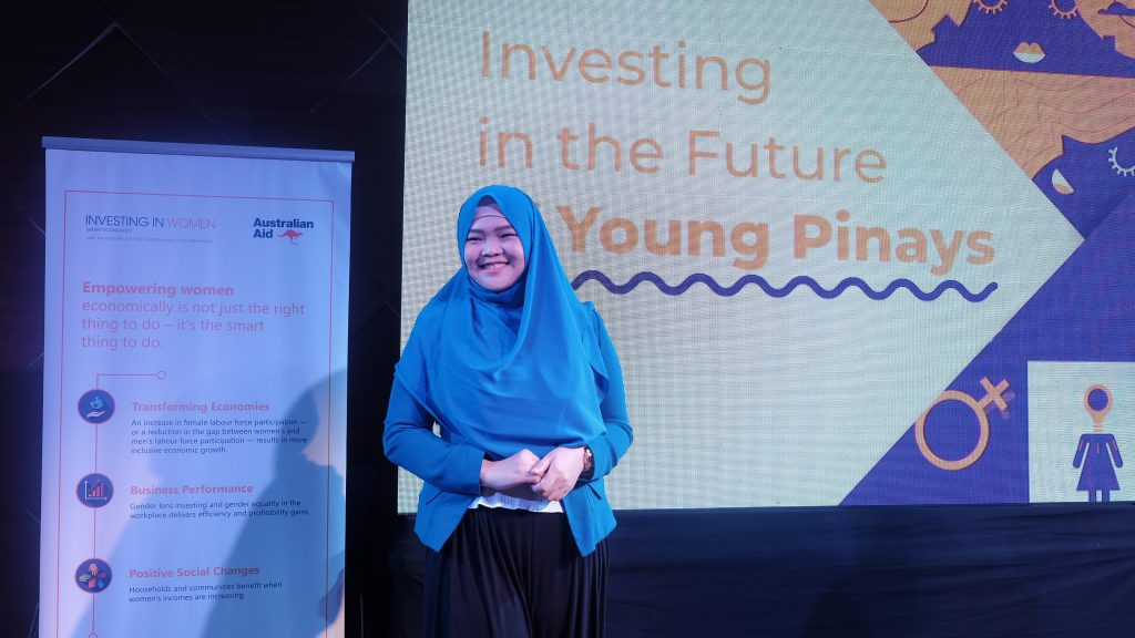 Sittie Lao, Future Of Young Pinays ambassador