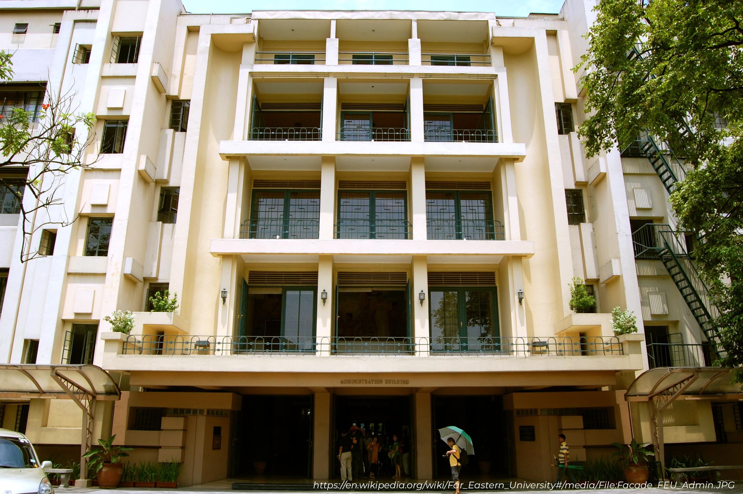 feu (far eastern university) building