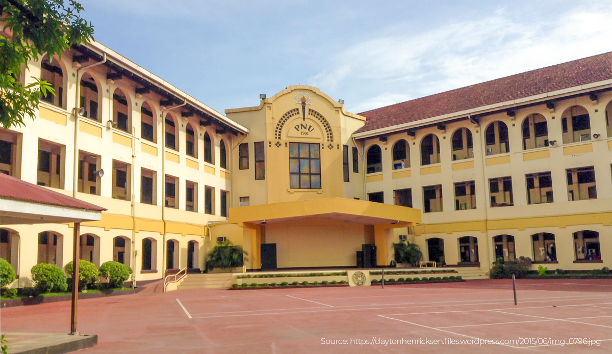 Campus of PNU Philippine National University