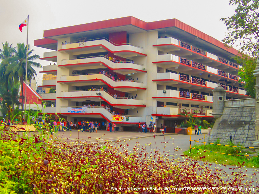 The main academic building of the Polytechnic University of the Philippines