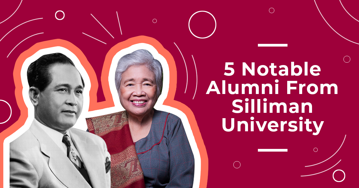 leonor briones and carlos garcia as silliman university alumni