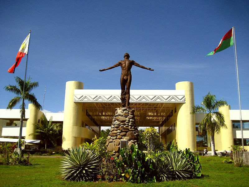 UP Mindanao oblation statue