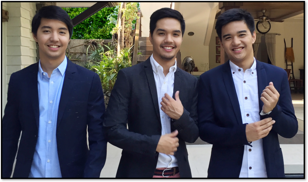 Fausto brothers: Enrique, Martin and Anton