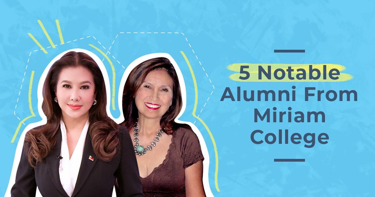 5 Notable Alumni From Miriam College