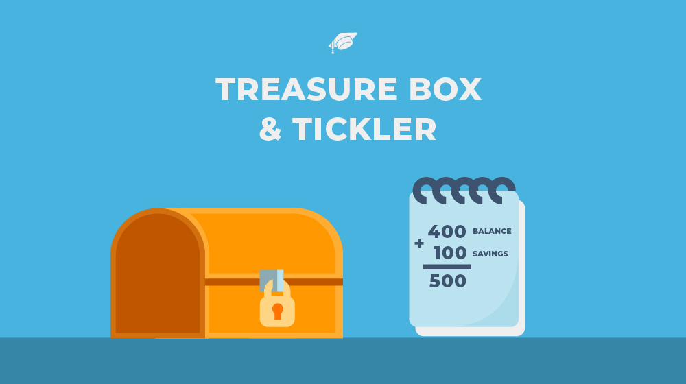 Treasure box and tickler—my boys' secret to saving