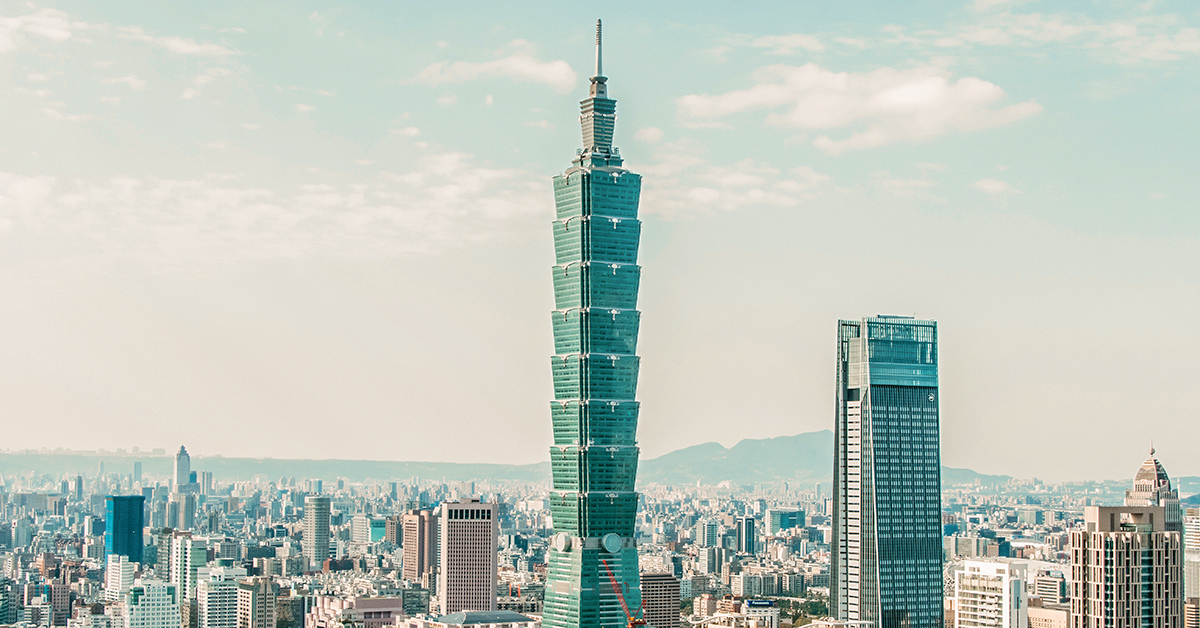 Taiwan daytime skyline