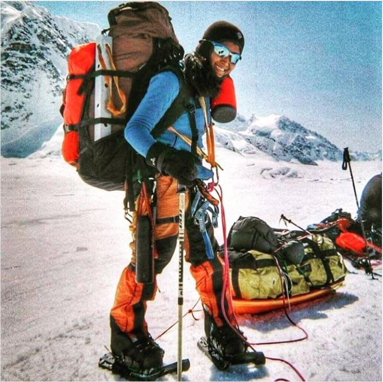 Mountaineer Carina Dayondon