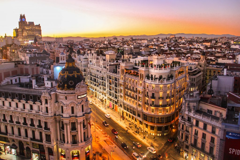scholarships in spain st louis university madrid city view