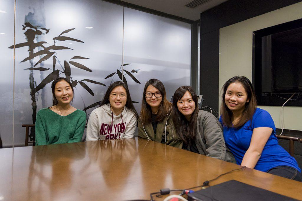 five students of veterinary medicine at city university of hong kong