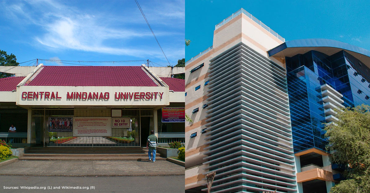 buildings of Mindanao schools