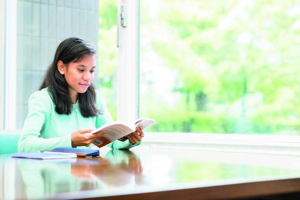 female international student from east timor studying at japanese university waseda