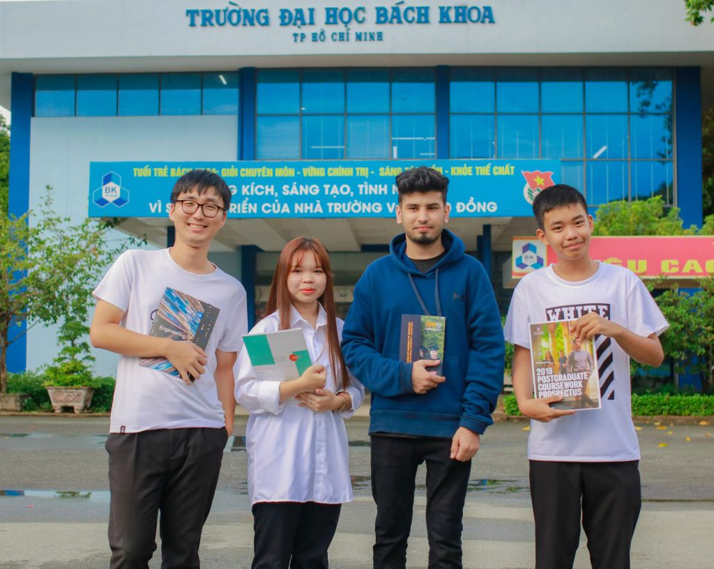 international students studying in a different country
