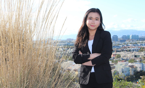 indonesian international student explains advantages of an education in LMU