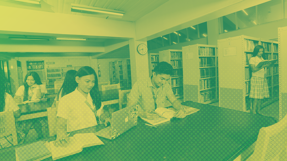 baliuag university social work library information science