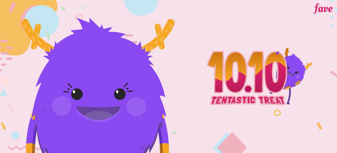 Persiapan untuk Fave 101.10 Tentastic Treat.