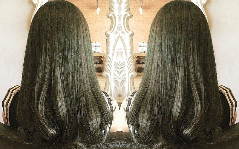 Rebonding treatment at Orange De Art of Hair