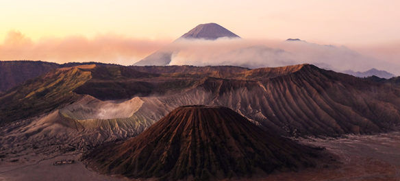 Mt Bromo in Java Indonesia with Fave