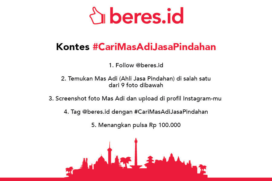 Kontes Instagram Beres Indonesia