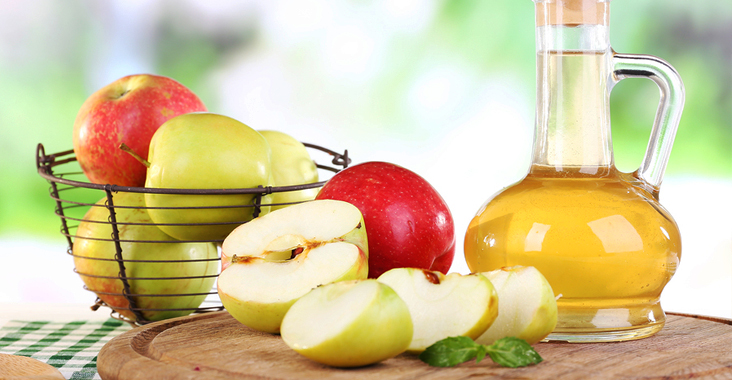 apple cider vinegar atau cuka apel