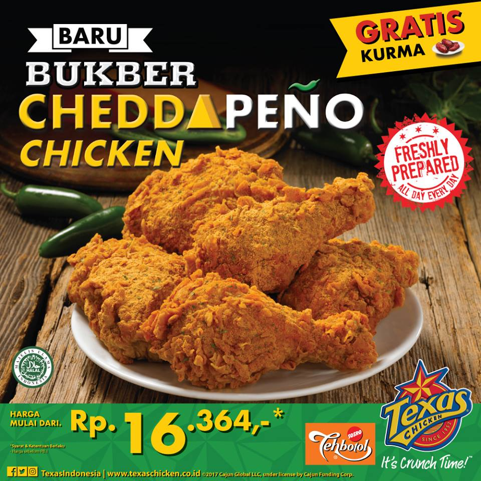 Paket Ramadhan Texas Chicken Indonesia