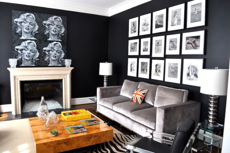 unique-black-painted-room-choosing-a-paint-color-color-psychology-101