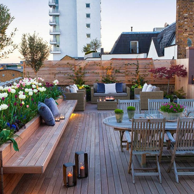 4 Amazing Balcony Rooftop Design Ideas Gawin