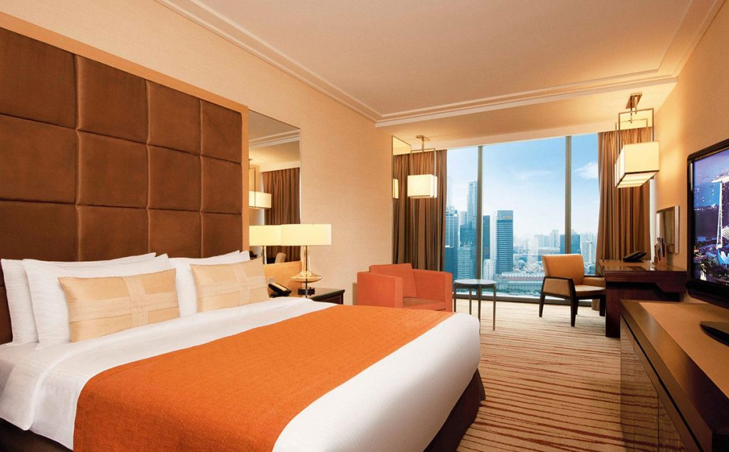 hotel room marina bay sands