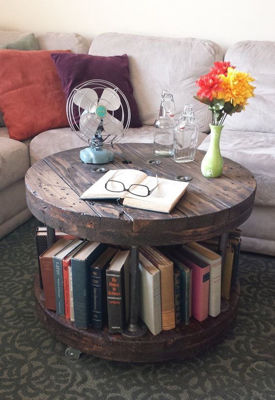 bookshelf-coffee-table