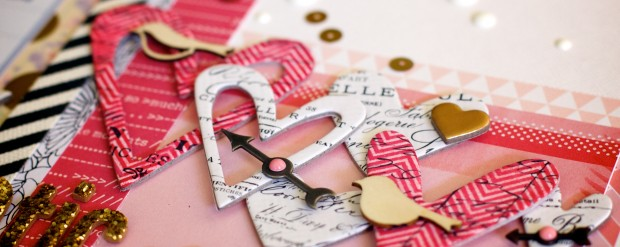 romantic scrapbooking