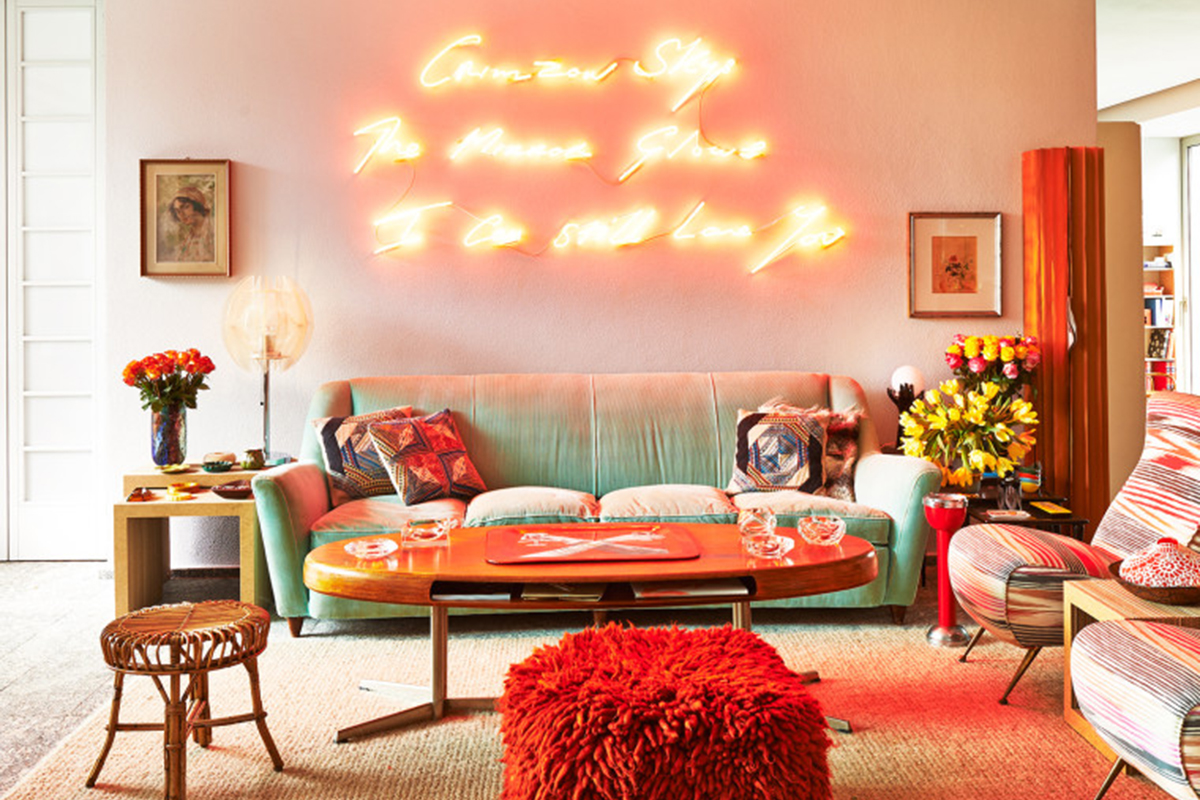 How to incorporate neon into your house