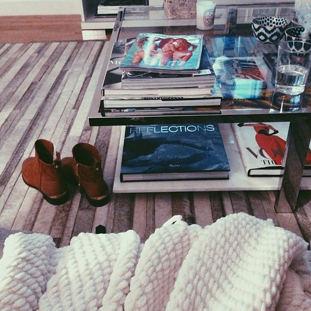 Gigi Hadid Apartment books