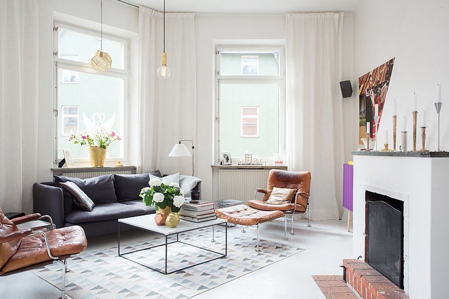 scandinavian design letting in more natural light