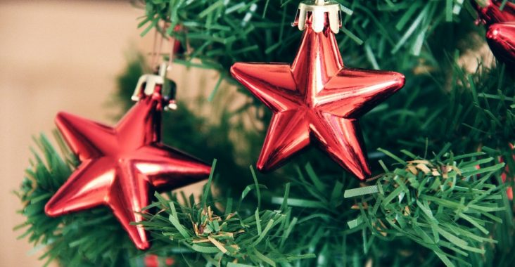start getting Christmas vibe with decorations