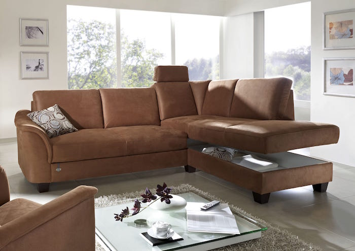 sofa with hidden storage
