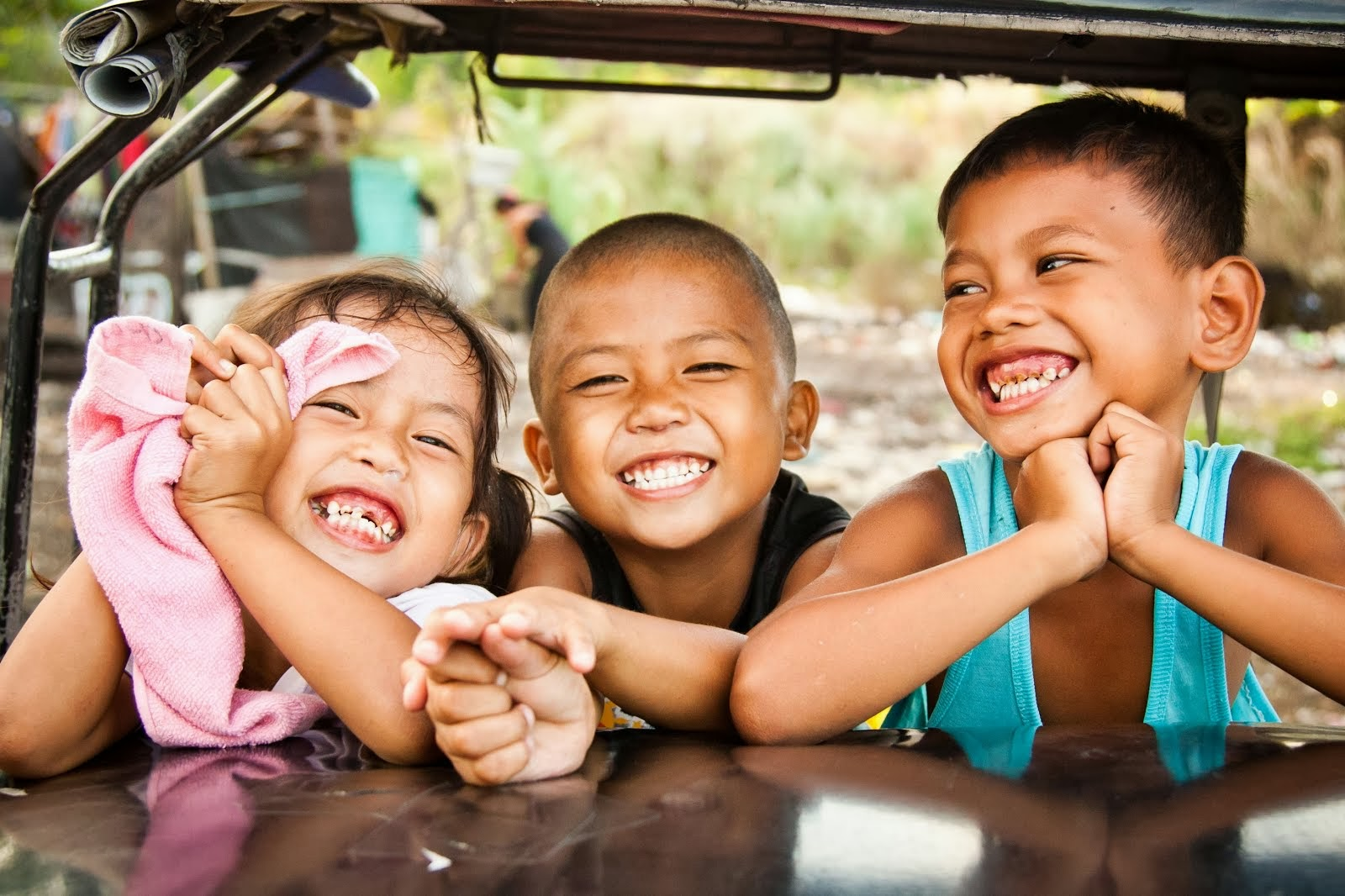 Filipino street kids